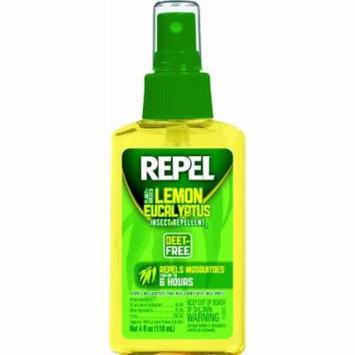 3 Pack Repel Lemon Eucalyptus Insect Repellent Pump Spray, DEET-Free, 4 Oz Each