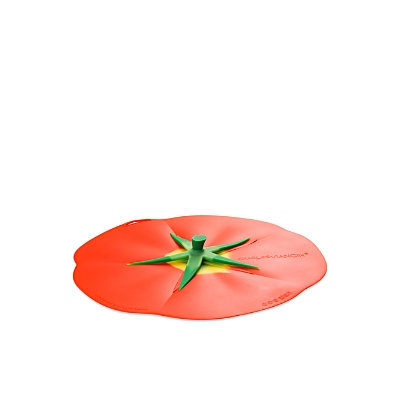 Charles Viancin Tomato Design Silicone Lid-RED-One Size