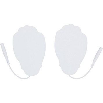 Pair of Pin-Inserted White Large Hand-Shaped Pad