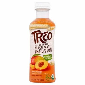 Treo Wtr Brch Peach Mango Org,16 Oz (Pack Of 12)