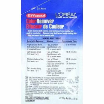4 Pack - L'Oreal Effasol Color Remover 0.86 oz