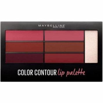 3 Pack - MAYBELLINE Lip Studio Color Contour Lip Palette Blushed Bombshell .17 oz