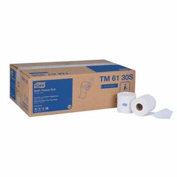 Tork Advanced TM6130S Bath Tissue Roll, 2-Ply, 4' Width x 3.75' Length, White (Case of 48 Rolls, 500 per Roll, 24,000 Sheets)