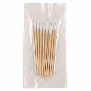 Non-Sterile Single-Tip Cotton Tip Swab with Wood Handle, 3
