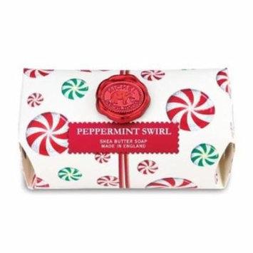 Michel Design Works Bath Soap Bar 9 Oz. - Peppermint Swirl