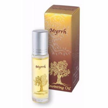 Holy Land Gifts 154061 No. 63112 Myrrh with Roll-On Applicator Anointing Oil