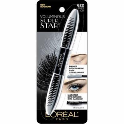 L'oreal Paris Voluminous Superstar Mascara Very Black (Pack of 10)