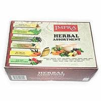 IMPRA Herbal Assortment 6 Flavors Tea Pack 60 teabags total