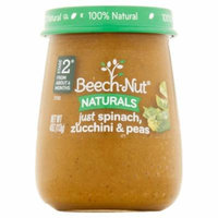Beech-Nut Naturals Baby Food Spinach & Zucchini - 4oz (Pack of 12)