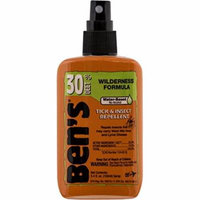 3 Pk Ben's Individually Wrapped Insect Repellent Wipes 30% DEET 12/Box(36 Total)