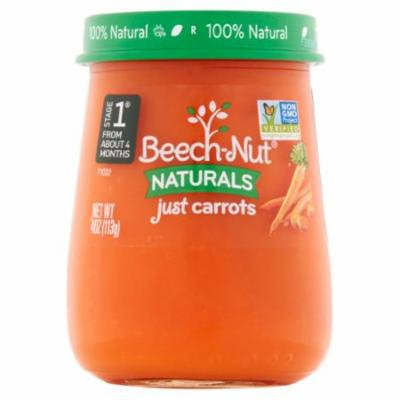 Beech-Nut Naturals Stage 1 Just Carrots, 4 oz (Pack of 2)