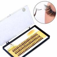 Women Pro Makeup 60 Pcs Clusters Beauty Eye Lashes Grafting Fake False Eyelashes