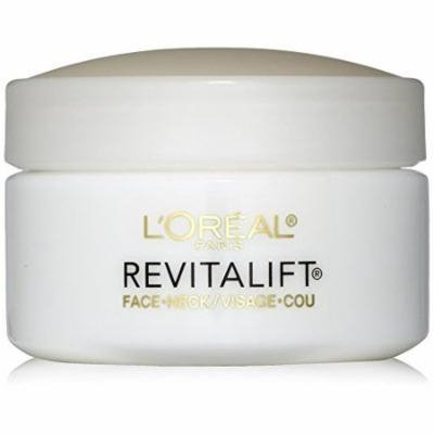 Loreal Pairs Revitalift Anti wrinkle and firming Day Cream, Face and Neck - 1.7 oz (Pack of 3)