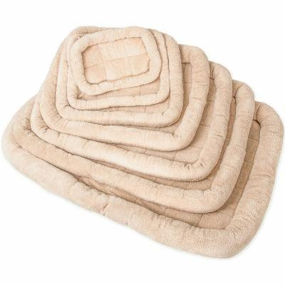 Paws & Pals Deluxe Bolster Pet Bed, Beige, One Size, 840345101723