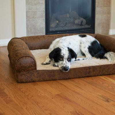 K & H Manufacturing Bomber Memory Sofa - Pet Accessories - Pet Beds - Brown | At JC Penney