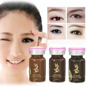 15ml Microblading Semi-Permanent Eye Brow Liner Tattoo Makeup Pigment Ink Emulsions