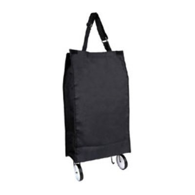 Ddi Rolling Shopping Tote - Black (Pack Of 12)