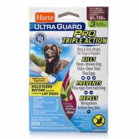Hartz UltraGuard Pro with Aloe Flea and Tick Dog Drops 61-150lb, 3 Monthly Treatments