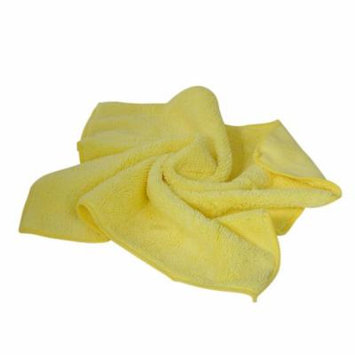 24 Pack Large Yellow Microfiber Cleaning Cloth No-Scratch Rag Car Polishing Detailing Towel