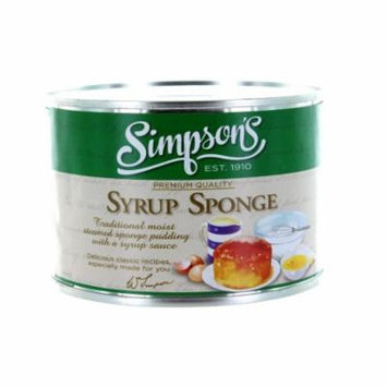 Simpson's Syrup Sponge Pudding, 10.5 oz Can (Pack of 3)
