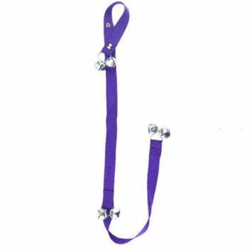 Adjustable Pet Dog Doorbells Training And Housebreaking Clicker Door Bell for Dogs and Cats