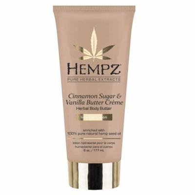 Hempz Cinnamon Sugar & Vanilla Butter Creme Herbal Body Butter - 6oz