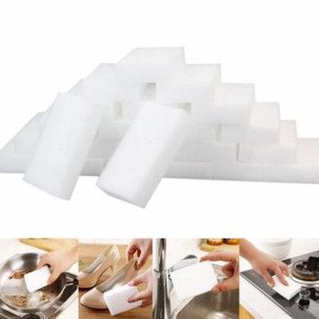 Womail 25Pcs White Magic Sponge Eraser Cleaning Melamine Foam Cleaner Kitchen Pad