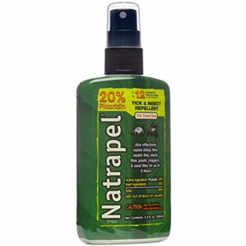 5 Pack Natrapel 12 Hour Insect Repellent Spray 3.4oz Each