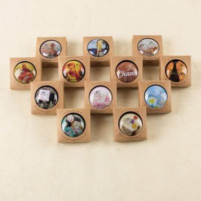 Portable Round Box Long-lasting Solid Perfume Balm Women Men Body Fragrance