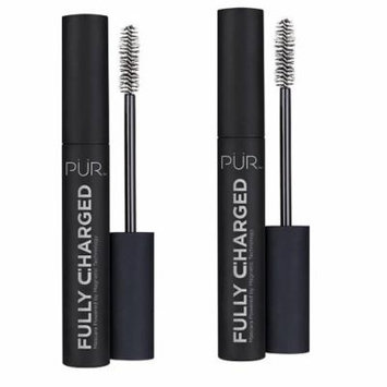 PUR Fully Charged Black Mascara 0.44 oz 2 Pack