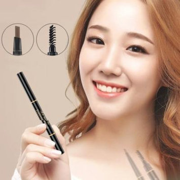 Double-end Eyebrow Pencil Eye Brow Brush Eyeliner Makeup Cosmetic Pen Tool