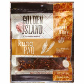 Golden Island Beef Jerky, Kung Pao, 3 Oz