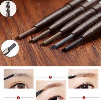 1 Pc Waterproof Cosmetic Tool Makeup Dual Head Pen Eyebrow Liner Pencil Brush