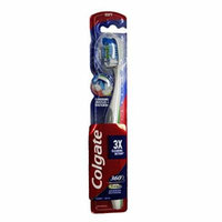 6 Pack Colgate 360 Total Advanced Full Head Toothbrush Soft 1 Count Each