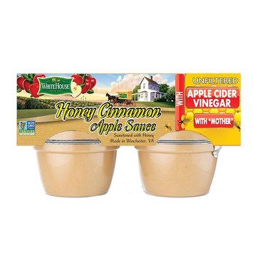 White House Honey Cinnamon with Organic Apple Cider Vinegar (4 PACK)