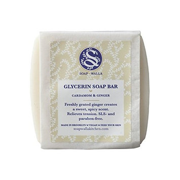 Soapwalla - Organic/Vegan Cardamom Ginger Soap Bar