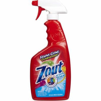 2 Pack - Zout Triple Enzyme Formula Laundry Stain Remover Foam 22 oz