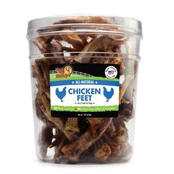 Pet 'n Shape Chicken Feet 1LB