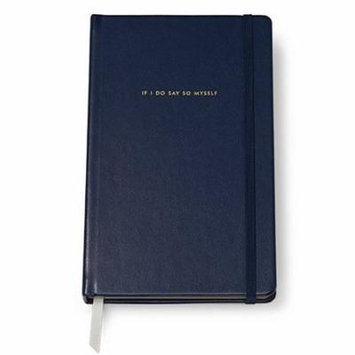 kate spade new york leatherette notebook - blue, large