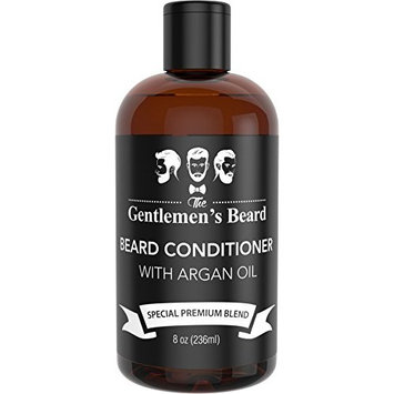 Beard Conditioner & Softener with Argan Oil for Men - Essential Oils Aid Growth and Skin Health - Best Beard Conditioner for All Types of Beards - Handcrafted in The USA by The Gentlemen's Beard