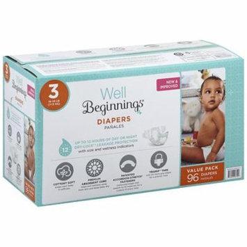 Well Beginnings Premium Diapers Club Box 396.0 ea(pack of 1)