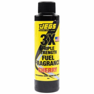 JEGS 63602 Fuel Fragrance Cherry Scented 4 oz. Bottle Safe for All Internal Comb