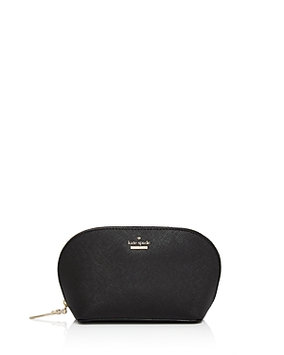 Kate Spade New York Cameron Street - Small Abalene Leather Cosmetics Case, Size One Size - Prickly Pear