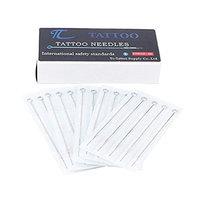 50 Tattoo Needles 7RS Tc Tattoo 7 Round Shader for Tattoo Machine Tattoo Kit