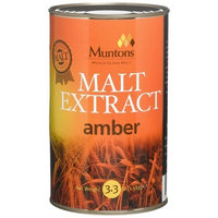 Muntons Malt Extract, Liquid, Unhopped Amber, 3.3 Pound Cans (Pack of 2)