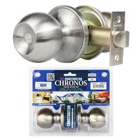 Constructor Chronos SS Passage Door Lock Knob Set