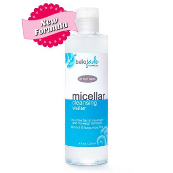 Micellar Cleansing Water - Alcohol Free, No Rinse Facial Cleanser and Makeup Remover - All Skin Types - Great for Travel, Post-Workout and Before Bedtime