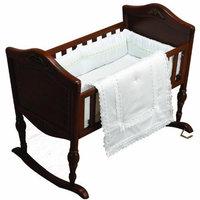 Baby Doll Bedding Crib Bedding Set, White