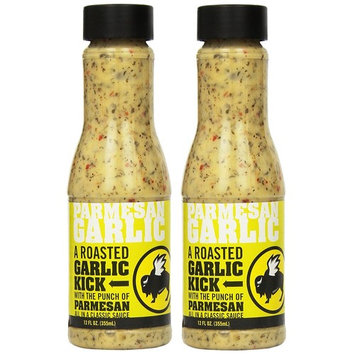 Buffalo Wild Wings Barbecue Sauces, Spices, Seasonings and Rubs For: Meat, Ribs, Rib, Chicken, Pork, Steak, Wings, Turkey, Barbecue, Smoker, Crock-Pot, Oven (Parmesan Garlic, (2) Pack)