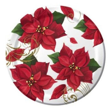 Poinsettia Breeze 9-inch Plates